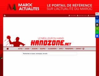 handzone.net screenshot