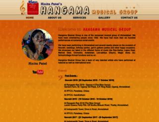 hangamamusical.com screenshot