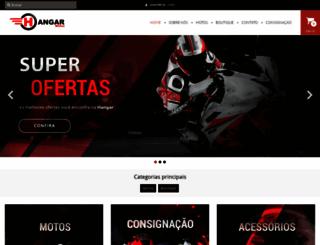 hangarmotos.com.br screenshot
