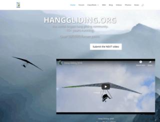 hanggliding.org screenshot