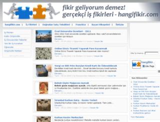 hangifikir.com screenshot