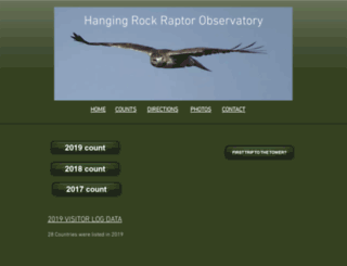 hangingrocktower.org screenshot