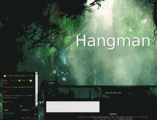 hangman.jcink.net screenshot