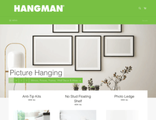 hangmanproducts.com screenshot