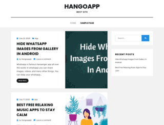 hangoapp.me screenshot