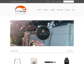 hangr.fullsail.com screenshot