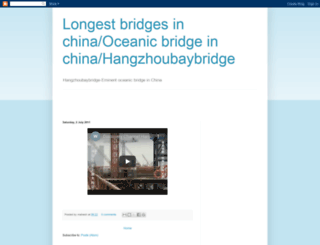 hangzhoubaybridge.blogspot.com screenshot
