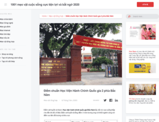 hanhchinh.com.vn screenshot