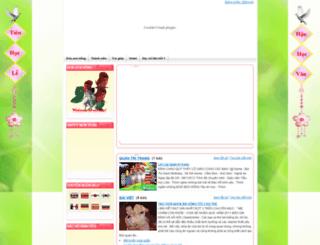 hanhphong1103.violet.vn screenshot