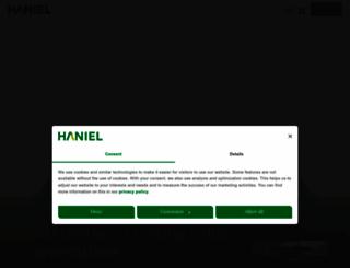 haniel.de screenshot