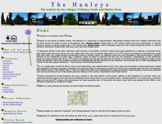 hanleyswan.net screenshot