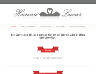 hanna-lucas.fi screenshot