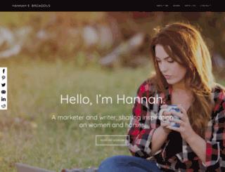 hannahebroaddus.com screenshot