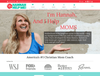 hannahhelpme.com screenshot