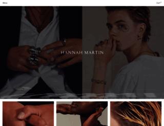 hannahmartinlondon.com screenshot