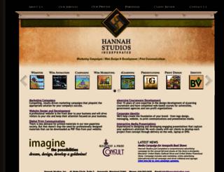 hannahstudios.com screenshot