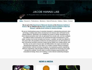 hannalabweb.weizmann.ac.il screenshot