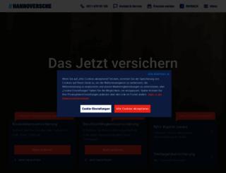 hannoversche-leben.de screenshot
