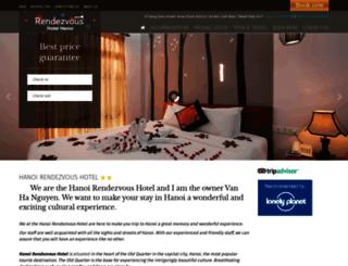 hanoirendezvoushotel.com screenshot