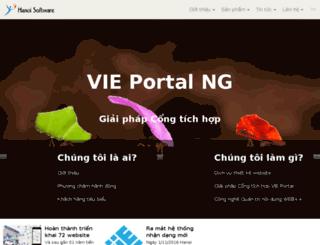 hanoisoftware.com.vn screenshot
