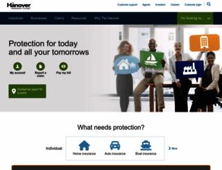 hanover.com screenshot
