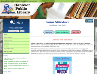 hanoverlibrary.ca screenshot