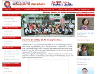 hanquoc.ftu.edu.vn screenshot