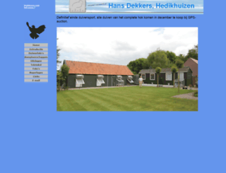 hans-dekkers.nl screenshot