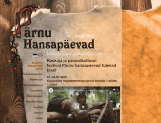 hansa.parnu.ee screenshot