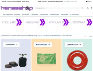 hansashop.eu screenshot