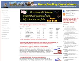 hanse-bv-wismar.de screenshot