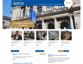 hanseaticmoneyfair.de screenshot