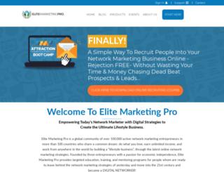 hanserteam.elitemarketingpro.com screenshot