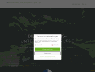 hansetrans.de screenshot