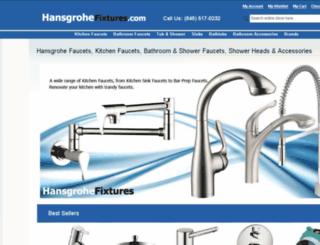hansgrohefixtures.com screenshot