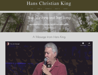 hansking.com screenshot