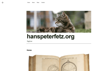 hanspeterfetz.org screenshot