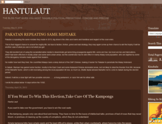 hantulautan.blogspot.com screenshot