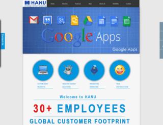 hanuservices.com screenshot