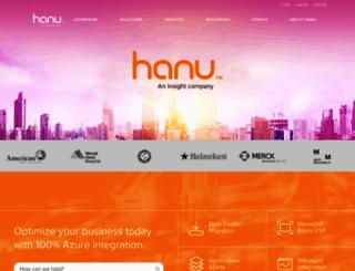 hanusoftware.com screenshot