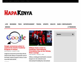 hapakenya.com screenshot