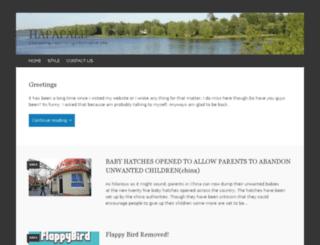 hapapale.wordpress.com screenshot