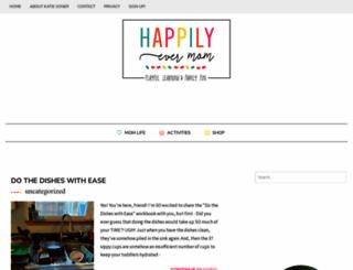 happilyevermom.com screenshot