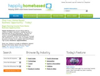 happilyhomebased.com screenshot