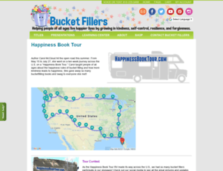 happinessbooktour.com screenshot