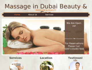 happy-massage-dubai.com screenshot