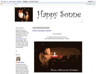 happy-sonne.blogspot.ch screenshot