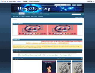 happy-team.org screenshot