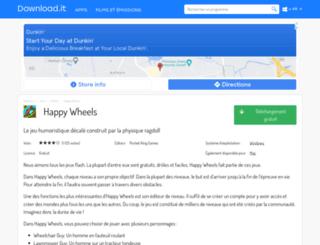 happy-wheels.portalux.com screenshot