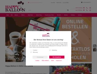 happyballoon.de screenshot